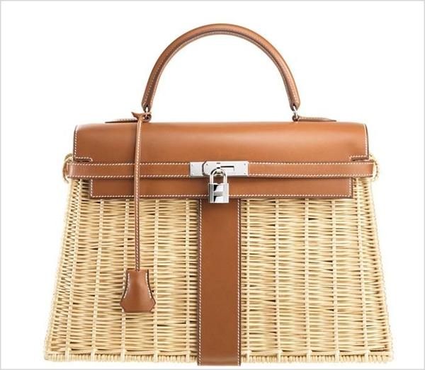 1 hermes1 Luksuz na travi: Hermès Kelly Picnic torba