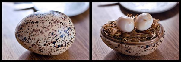 1. dimljena prepelicja jaja Šumski jelovnik