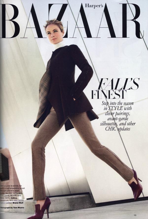 """115 Carolyn Murphy za """"Harper's Bazaar US"""" – avgust 2011. godine"""