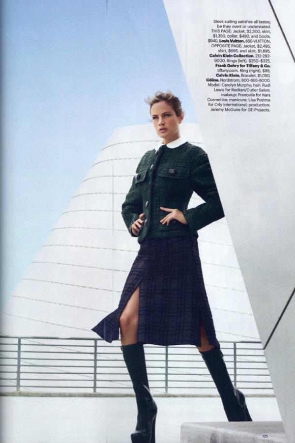 """116 Carolyn Murphy za """"Harper's Bazaar US"""" – avgust 2011. godine"""
