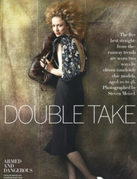 """Double Take"" – Vogue US, avgust 2011."