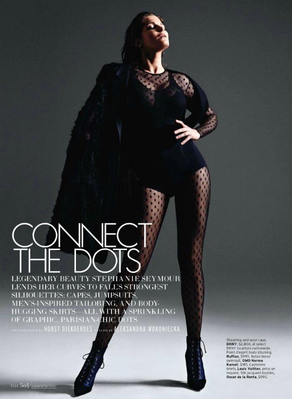 "180 Stephanie Seymour  za ""Elle US"" – septembar 2011."