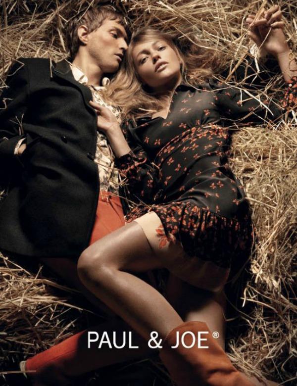 190 Reklamna kampanja za Paul & Joe: boho stil