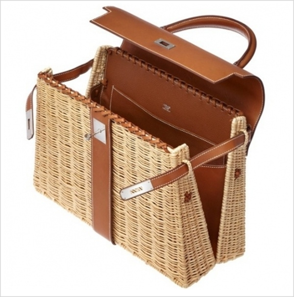 2 hermes1 Luksuz na travi: Hermès Kelly Picnic torba