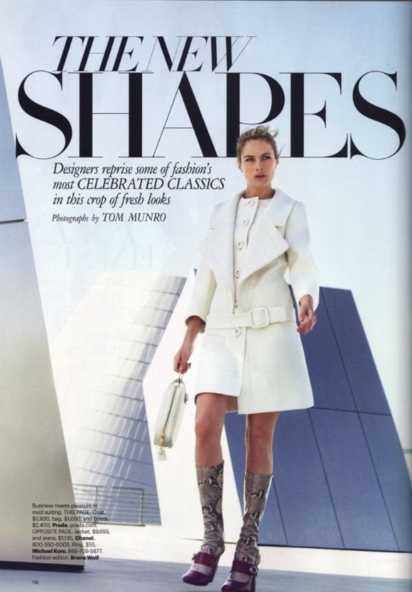 """213 Carolyn Murphy za """"Harper's Bazaar US"""" – avgust 2011. godine"""
