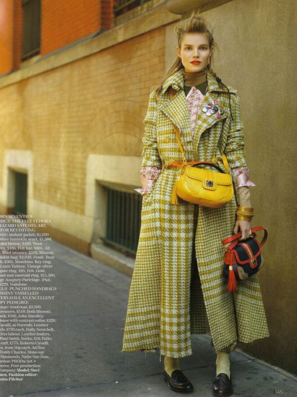 "214 Vogue UK avgust 2011. godine – editorijal ""Style Hunter"""