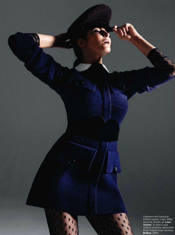 "340 Stephanie Seymour  za ""Elle US"" – septembar 2011."