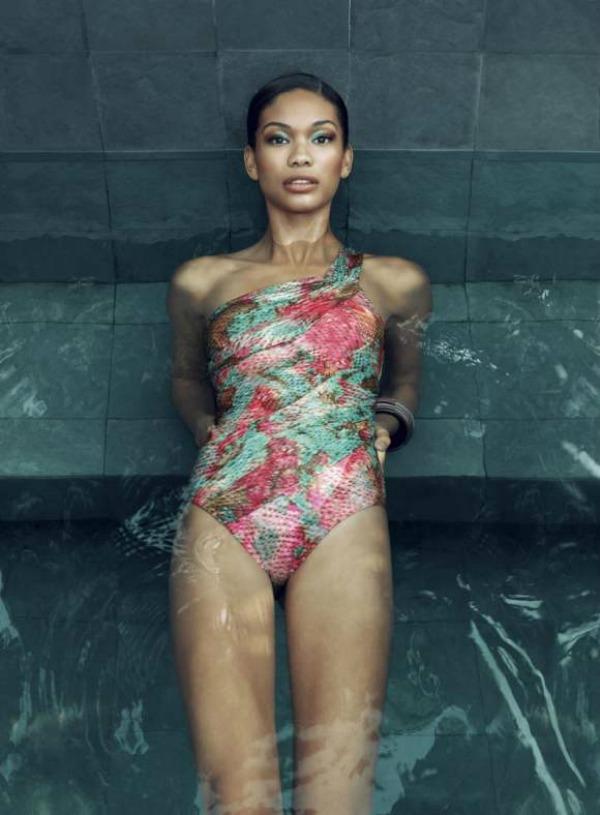 413 Chanel Iman za Rosa Cha Swimwear   leto 2011. godine