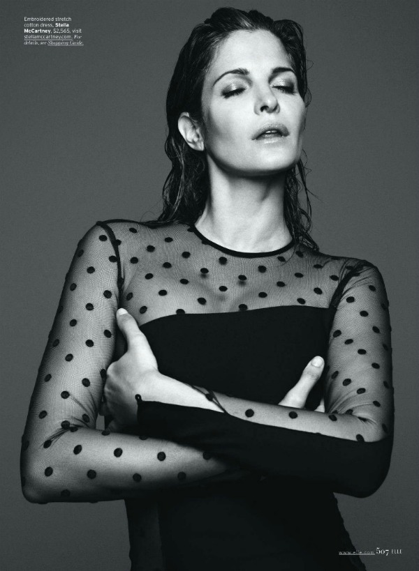 "434 Stephanie Seymour  za ""Elle US"" – septembar 2011."