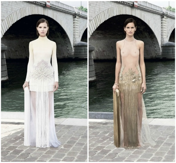 446 Givenchy Haute Couture jesen 2011.