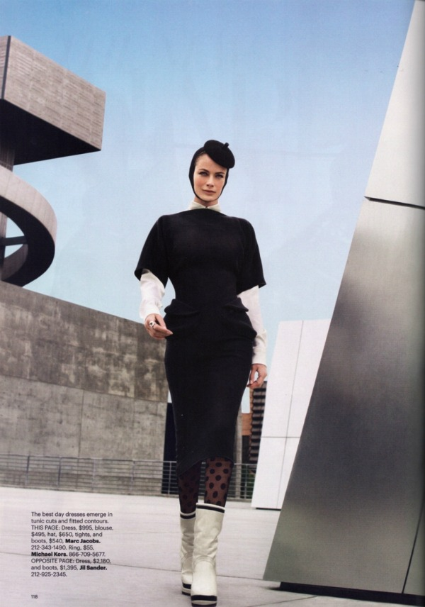 """46 Carolyn Murphy za """"Harper's Bazaar US"""" – avgust 2011. godine"""