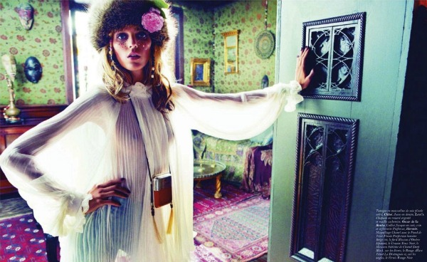 527 Anja Rubik za Vogue Paris   septembar 2011.