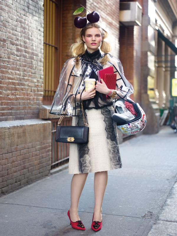 "57 Vogue UK avgust 2011. godine – editorijal ""Style Hunter"""