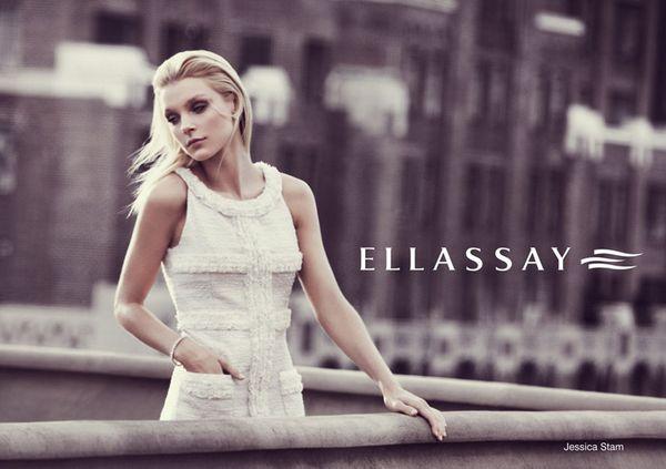 717 1 Jessica Stam za Ellassay proleće/leto 2011.