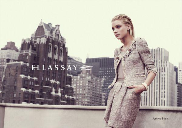 717 3 Jessica Stam za Ellassay proleće/leto 2011.
