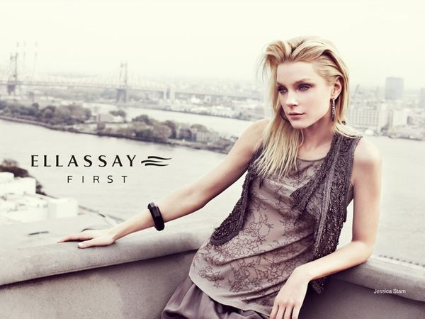 717 6 Jessica Stam za Ellassay proleće/leto 2011.