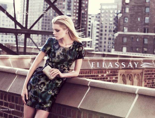 717 7 Jessica Stam za Ellassay proleće/leto 2011.