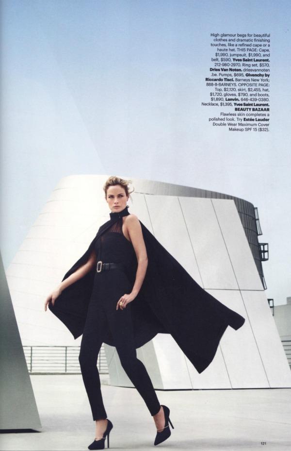"""76 Carolyn Murphy za """"Harper's Bazaar US"""" – avgust 2011. godine"""