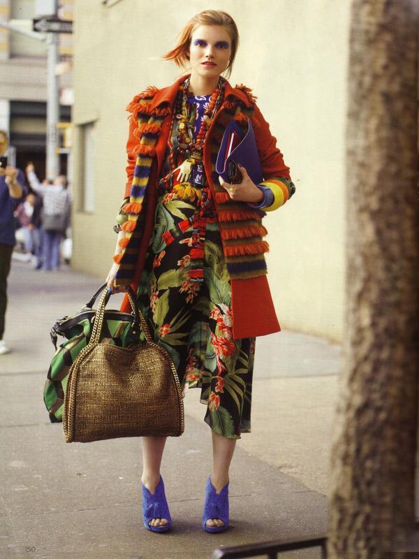 "77 Vogue UK avgust 2011. godine – editorijal ""Style Hunter"""