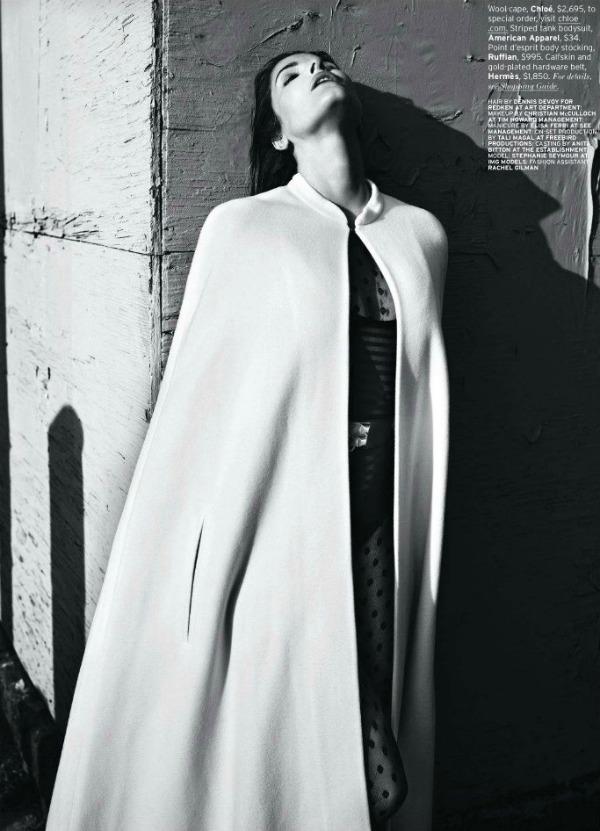 "822 Stephanie Seymour  za ""Elle US"" – septembar 2011."