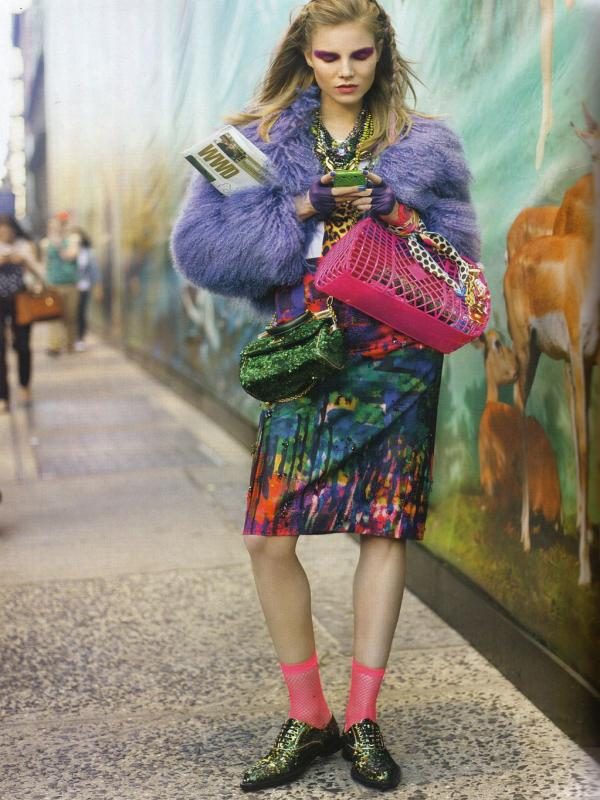 "96 Vogue UK avgust 2011. godine – editorijal ""Style Hunter"""