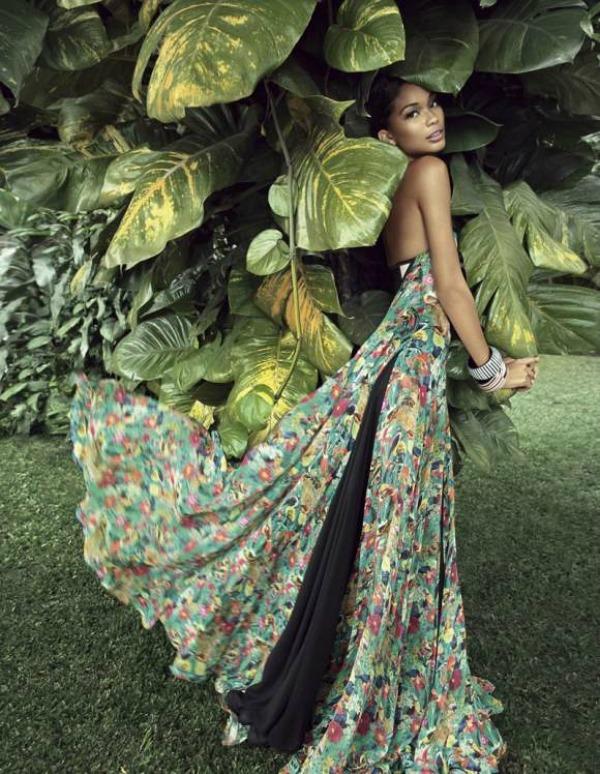97 Chanel Iman za Rosa Cha Swimwear   leto 2011. godine