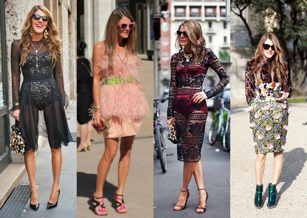 ANNA DELLO RUSSO Anna Dello Russo: modni manijak