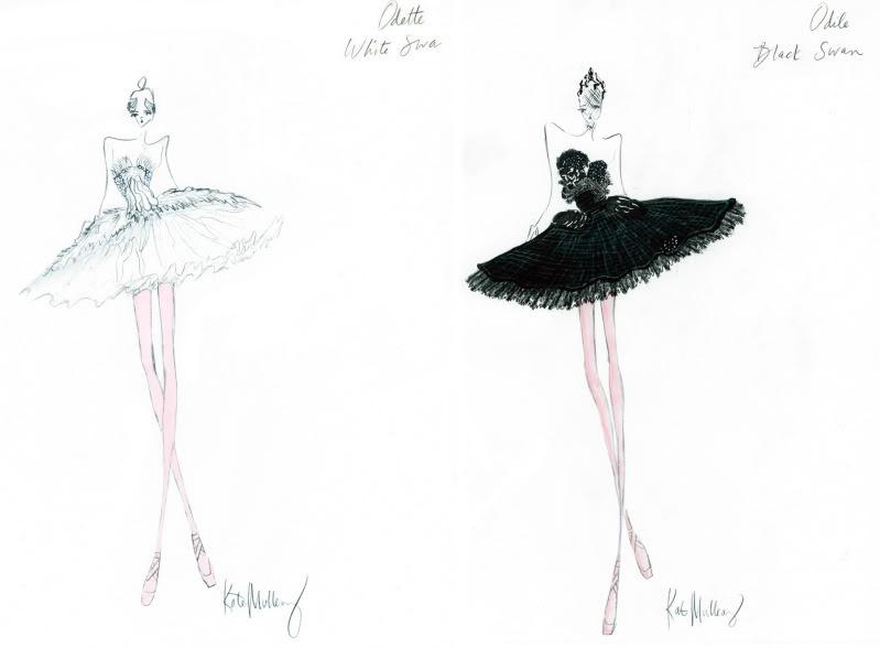 BlackSwanCostumeIllustrationsfromtavi 2 e Rodarte sestre: Kate i Laura Mulleavy