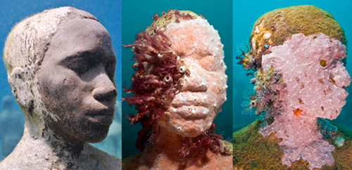 Coral underwater sculpture jason decaires taylor Skulpture sa škrgama
