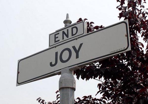 EndJoyRoadSign Vratismo se kući, šta sad?