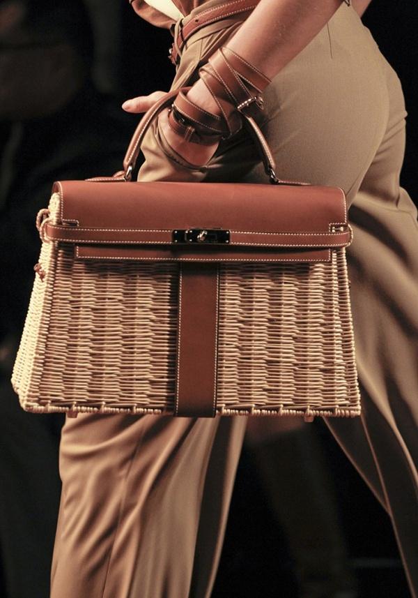 Hermes 600 Luksuz na travi: Hermès Kelly Picnic torba