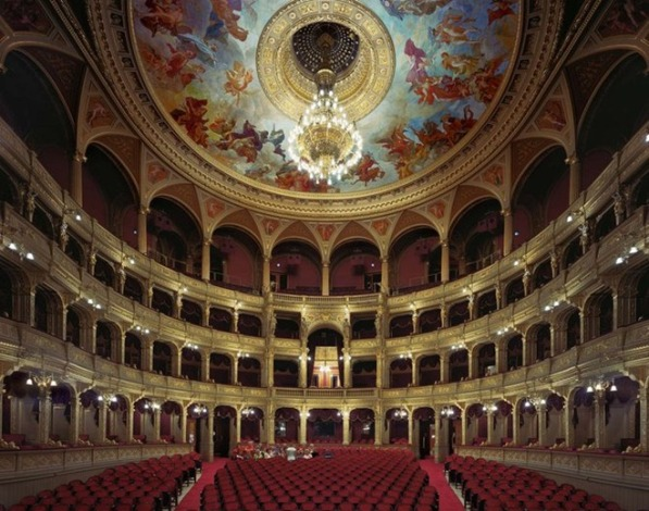 HingarianStateOperaHouseBudapestHungary2008 Enterijer najpoznatijih operskih kuća