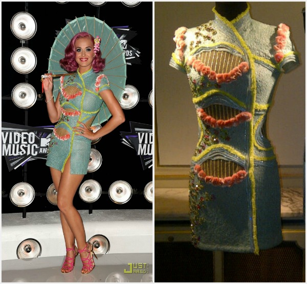 Katy Perry in Atelier Versace SS12 Fashion Report   Video Music Awards