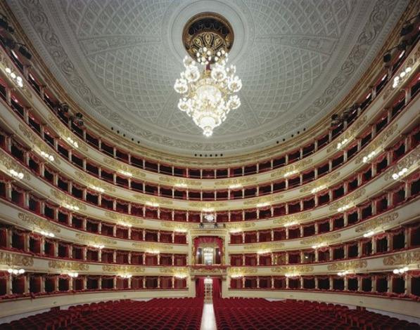 LaScalaMilanItaly2008 Enterijer najpoznatijih operskih kuća