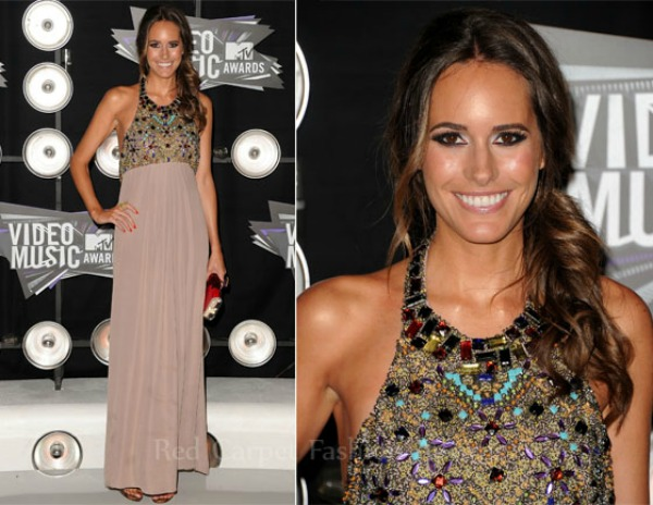 Louise Roe In Tibi 2011 MTV Video Music Awards Fashion Report   Video Music Awards