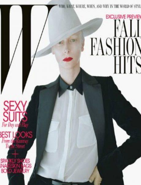 "Tilda Swinton za ""W Magazine"" – avgust 2011. godine"