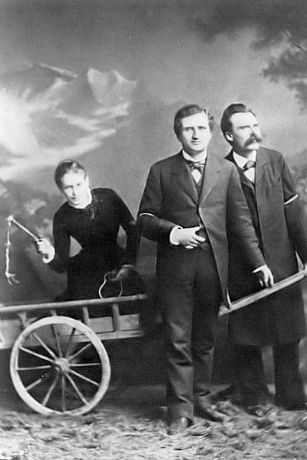 Nietzsche paul ree lou von salome188 Muze na Zemlji: Lou Salomé