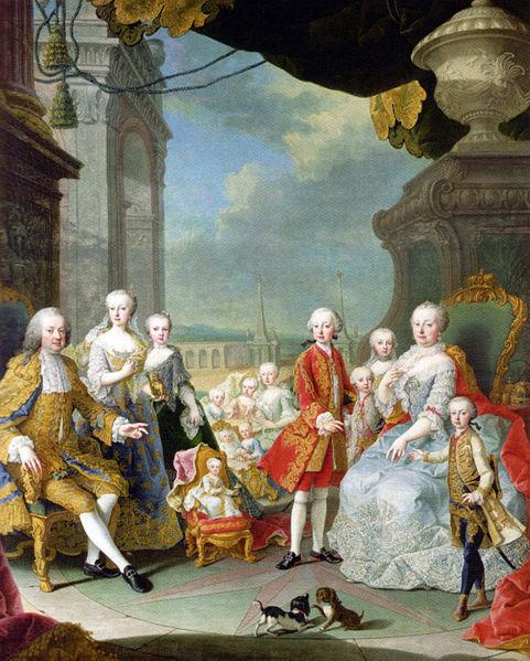 Porodicni portret Žene koje su vladale svetom – Marija Terezija