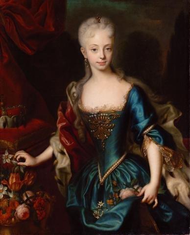 Portret iz detinjstva Žene koje su vladale svetom – Marija Terezija