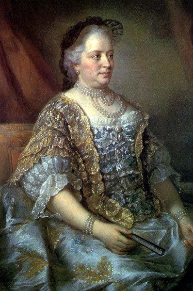 Pozni portret Žene koje su vladale svetom – Marija Terezija