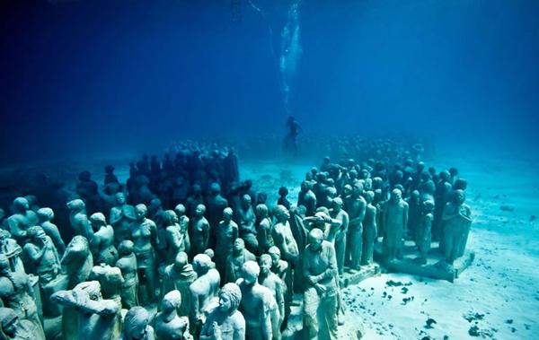 Silent evolution Jason sculpture08 Skulpture sa škrgama