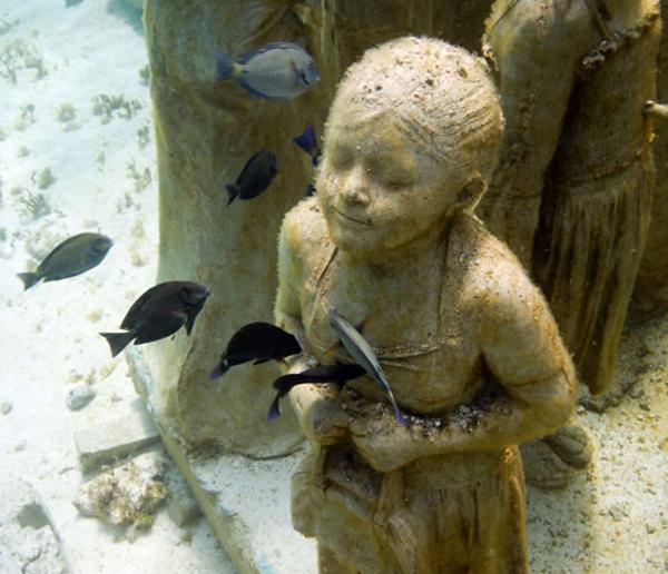 Silent evolution Jason sculpture09 Skulpture sa škrgama