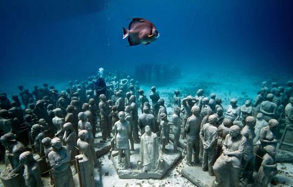 Silent evolution Jason sculpture28 Skulpture sa škrgama