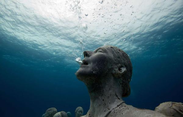 Silent evolution Jason sculpture38 Skulpture sa škrgama