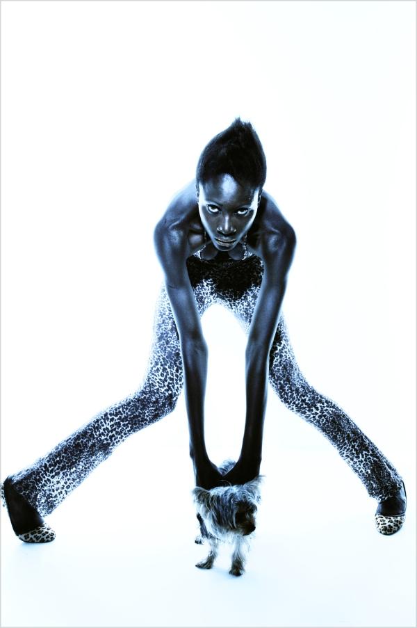 Supermodel Dji Dieng by G. Balmelli 4 picnik1 Wannabe interview: Dji Dieng