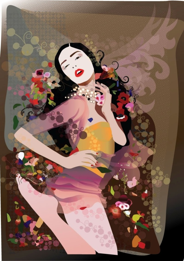 Svetlana Simeunovic Modne ilustracije širom sveta