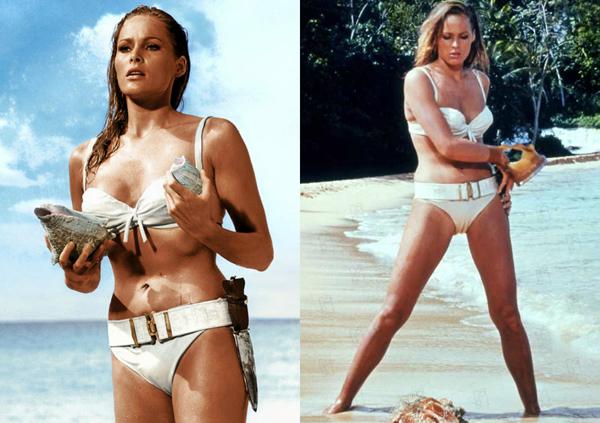 URSULA ANDRESS Nezaboravni modni trenuci u istoriji filma