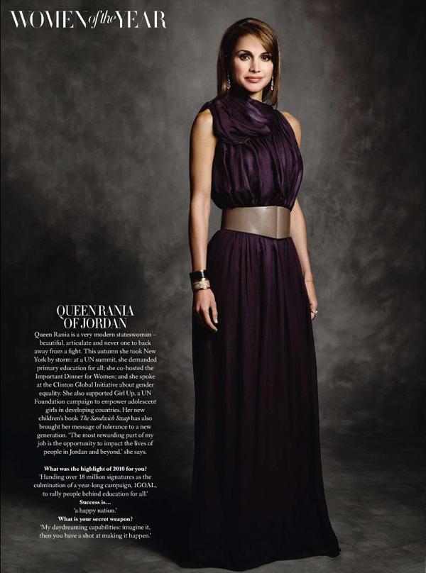 WomenoftheYearQueenRania Royal Style: Queen Rania of Jordan