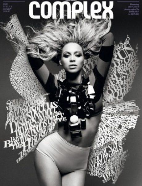 Beyoncé za Complex avgust/septembar 2011.