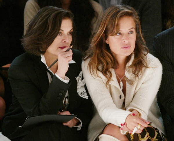bianca and jade jagger mother and daughter Rock & Roll Fashion   Bianca Jagger